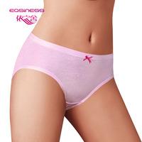 free shipping 6068 trigonometric panties women's 100% cotton briefs perfect slim hip natural hot-selling