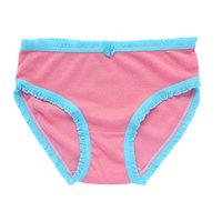 free shipping Breathable cotton panties mid waist breathable cotton women's 100% trigonometric cutout cotton panties