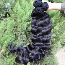 UPS Free Shipping 5A Unprocessed Malaysian Virgin Hair Loose Wave 3pcs Lot Human Hair Extensions Natural Black Color Hair Weave(China (Mainland))