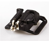 High quality Hard Plastic Camera Waist Belt Buckle Button Hanger Black - Free Shipping