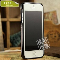 New style hybrid colors Aviation aluminum metal frame bumper for apple iphone 5s metal case for iphone 5s protective 5 free gift