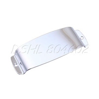 CHROME BASS GUITAR PICKUP COVER FOR BASS