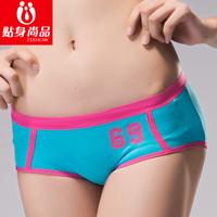 Underwear panties female 100% cotton seamless panties casual sports women's briefs shorts antibiotic autumn and winter