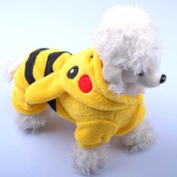 New arrival pet clothes teddy autumn and winter dog clothes clothing