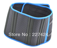 Free Shipping 5 pcs velcro fastener Adjustable Blue Edge Waist Support Wrap Brace Protector,Waist Protection Belt #HW193