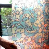 Window paper glass film scrub stickers translucidus transparent bathroom glass paper sliding door print film