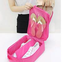 High Qaulity Waterproof Travel Organizer Shoe Bag Waterproof Nylon Shoe Organizer Travel Luggage Storage Organizer free shipping