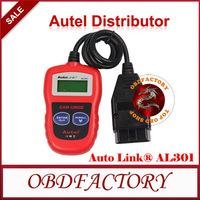 New 2014  Autel AutoLink AL301 OBD II & CAN Code Reader AutoLink AL-301  Tools Electric obd2 Auto Diagnostic Tool