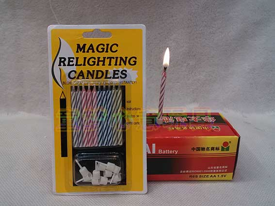 (free shipping)Novelty shock toys candle birthday(China (Mainland))