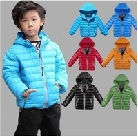 High Quality Children's Winter Down Coat Loverly Warm White Down Jacket Boys  And Girls Outdoor Winte Coat BC-025