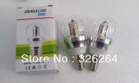 Free HK Post shipping 5pcs LED Bulb light 85-265V 2835SMD 5W E14 base