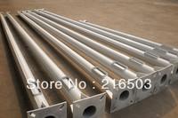 Prepainted/galvanised Road Lighting Conical Steel Pole