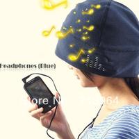 Wholesale Fashion Winter Warm Music Hats Headphone Headset Earphones Hat for mp3 mp4,Various Color