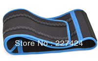 Free Shipping velcro fastener Adjustable Blue Edge Waist Support Wrap Brace Protector,Waist Protection Belt #HW193