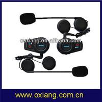 Interphone Bluetooth Headset Motorcycle Helmet( 500mts Intercom Distance) Free Shipping