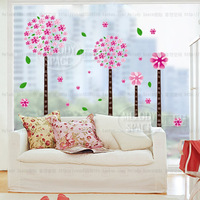 Free Shipping 1000*360mm Environmental protection PVC  stickers creative DIY stickers andora tree can remove wall stickers