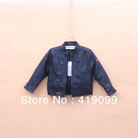 Hot sale baby boy jacket, winter coats and jackets for children,children leather jacket 5 pcs/lot  boy fall/winter jacket 2013