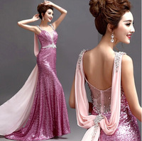 lace party dress 2014 Romantic mermaid evening dresses 2013 new arrived dress 586