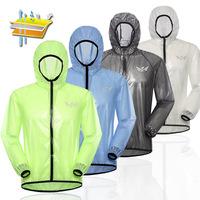 new mens lightweight bicycle Outdoor Sports hooded rain Jacket womens Waterproof Windproof coat