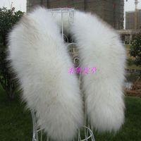 Winter fox fur collar faux fur raccoon fur collar cap of son false collar muffler scarf