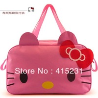 Hello Kitty  travelling bag Super large lovely hand taking bag luggage pink color cat design1766