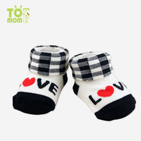 Footwear baby socks  100% non-slip socks cotton for 0-3 month baby baby products