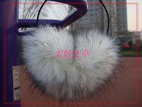 61 white wool black fox fur earmuffs fox fur earmuffs fox fur earmuffs