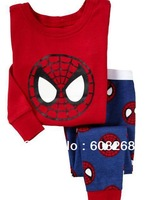Retail 1 set 2013 new babys clothing cotton boys clothing kids clothes children's clothes baby sets boys Pajamas