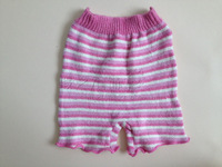 Children's clothing female child stripe shorts 110 - 130