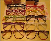 Large Clear Lens Glasses Square Party Fancy Big Nerd for Unisex Men Women Gift