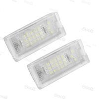 2pcs White 18 LED License Plate Lights Lamps Bulbs for BMW Mini Cooper R50 R52 R53 12V