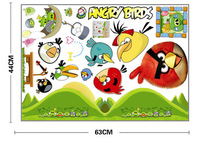 New Free Shipping 10000*30000mm PVC DIY BIRDS Cute Wall Removable Cartoon Wall Stickers Creative Hilarious Personality Walls Hot