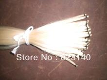 10 Hanks High Quality Mongolia Stallion White Violin Bow hair 6 grams hank