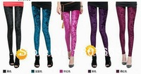free shipping 2pcs Women Pleuche Celeb Velvet Soft Stretch Sexy Leggings Slim Pants Tights