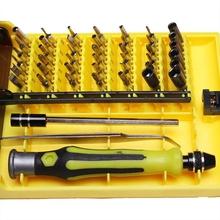 45 in 1 Multi-function Repair Torx Screwdrivers Kit Set Electronic Magnetic Screwdriver Cell Phone Tool Repair Box 116x20x20mm