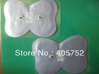 freeshipping  20pcs/lot (10 Pairs) good quality Purple Electrode Pads For EMS BODY PRO