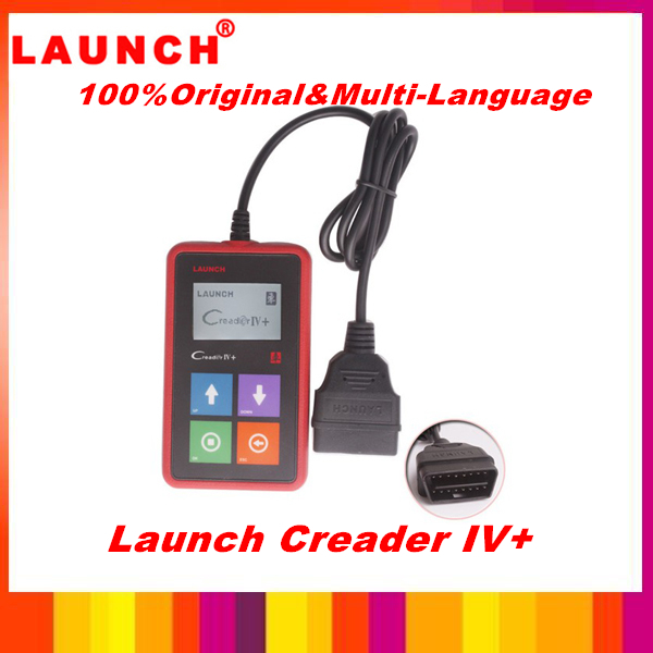 2013 best price for Original Launch X431 Creader IV+ Universal Car Code Scanner CReader IV Plus OBDII Auto Scanner CReader 4(China (Mainland))