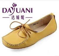 Factory direct,womens Excellent driving flat shoes,Fashion Genuine leather shoes,nurse,moccasin-gommino
