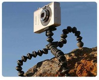 Digital Camera Mini Tripod Stand Spider Mount Holder 360' Rotational Tripus Flexible Tripod gopro accessories