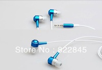 Free shipping mobile phone headphones   ear headset earphones high quality
