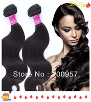 100%virgin human Indian hair weft ,8''-32''mix length 3pcs/lot hair body wave hair extensions natural color queen hair products