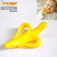 Wholesale Safe Food Grade Creative Silicone Baby Toothbrush For Infants Newborn to 12 Months Free Shipping