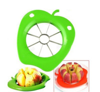 Peeler Corer Slicer Tool Easy Cutter Cut Fruit Knife Stainless Steel Blade Cutting for Apple Pear Dicing Chef Nicer Dicer HG159