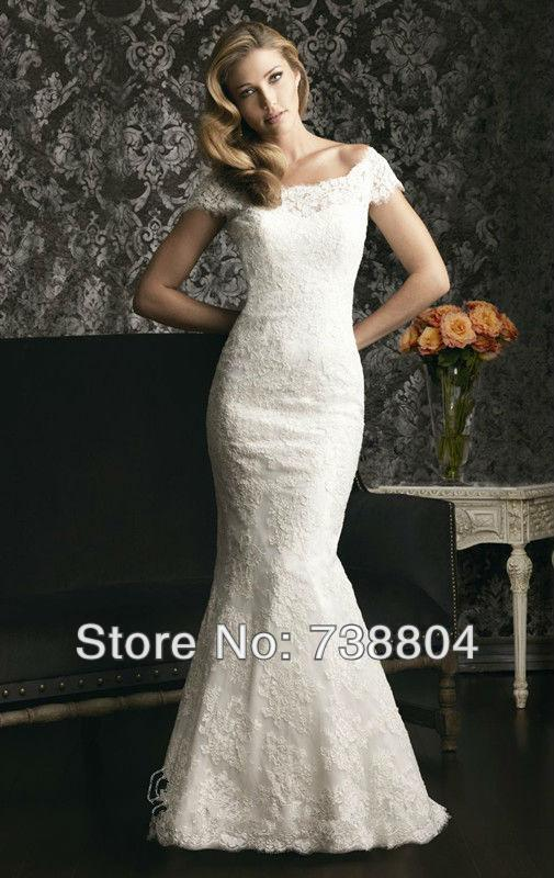 2013 wedding dress plus size White/Iovry Mermaid Zipper Back Sleeveless Organza Court Train Wedding Dress Custom-made(China (Mainland))