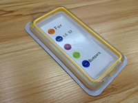 High Quality Bumper Case Skin Cover Frame TPU For LG Optimus G2 D802 Free shipping DHL UPS HKPAM