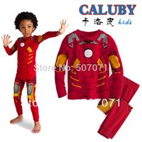 2014 New Kids Boy's Pyjamas Set Baby Transformers Long Sleeve Sleepwear Children Wear baby Homewear clothing XC333