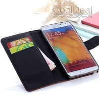 4 Color,Litchi grain PU Leather Wallet Stand Case For Samsung GALAXY Note 3 iii N9000 Luxury Mobile Phone with Card holder