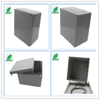 Plastic enclosures electronic project box/ weatherproof box instrument case 200*200*130mm  7.87*7.87*5.12inch
