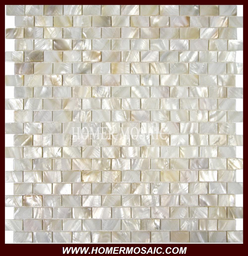 Online kopen wholesale parelmoer schelp tegel uit china parelmoer schelp tegel groothandel - Donker mozaieken badkamer ...