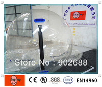 Free shipping and Crazy price!!! fun entertainment water ball, high quality pvc inflatable water ball